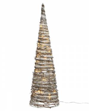 Светодиодная снежная пирамида 28x28x120cm-72L - заказ и доставка цветов Киев