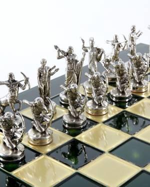 Шахматный набор Подвиги Геркулеса, зеленая шахм... - заказ и доставка цветов Киев