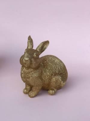 Кролик в ассортименте золотой, 7.5 см - заказ и доставка цветов Киев