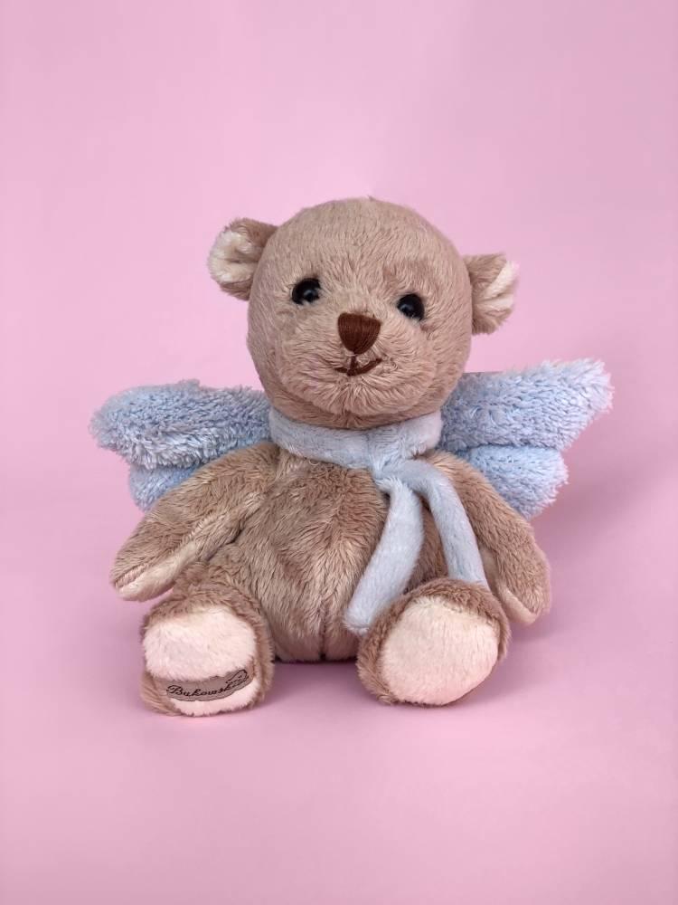 Игрушка Ангел-хранитель Малыш голубой, 15 см