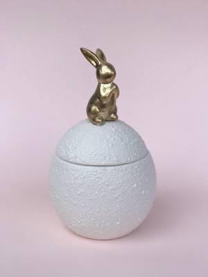 Шкатулка в виде яйца с кроликом, 5 см - заказ и доставка цветов Киев