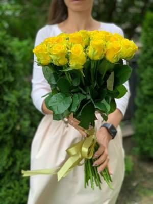 Букет 31 Желтая роза - заказ и доставка цветов Киев