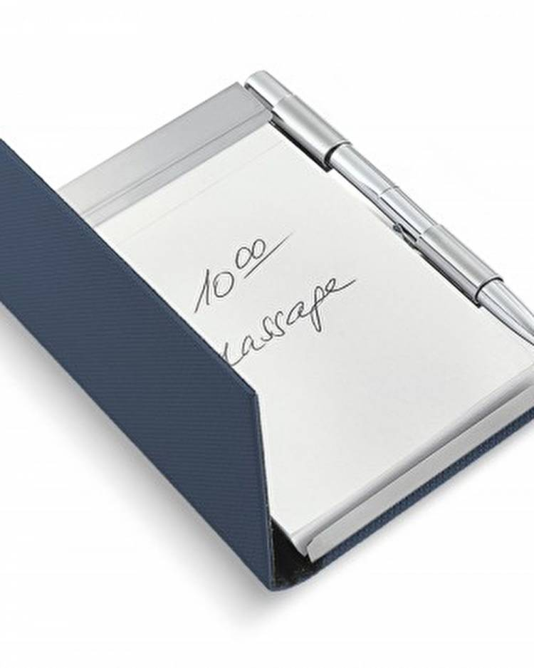 Набор Todd блокнот+ручка, синий