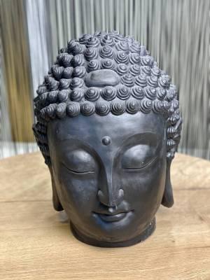 Декор Голова Будды черный - заказ и доставка цветов Киев