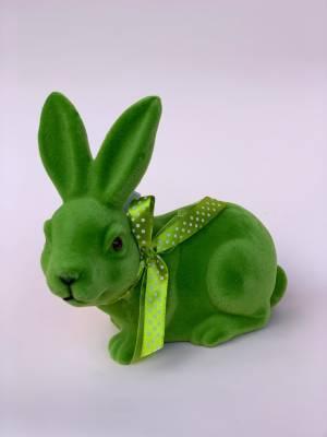 Кролик зеленый, 19 см - заказ и доставка цветов Киев