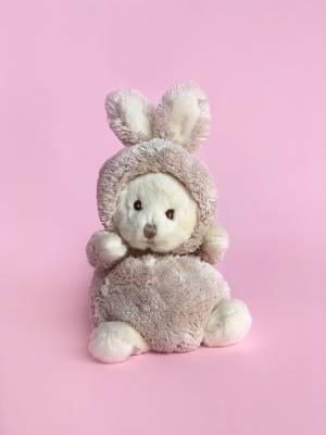 Іграшка Ведмедик Зіггі в костюмі зайця, 15 см - заказ и доставка цветов Киев