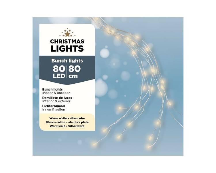 Микро LED гирлянда 80 см