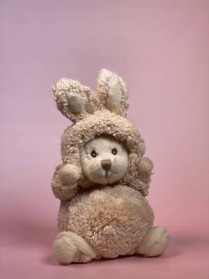 Игрушка Зигги в костюме зайца кремовый - заказ и доставка цветов Киев