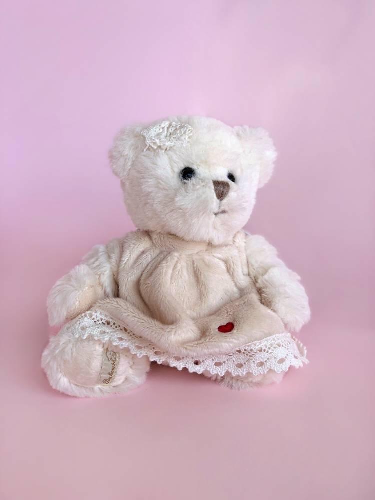 Игрушка Мишка Мелиса Красное сердце, 15 см