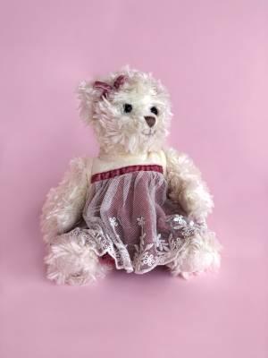Игрушка Милая Нинка в розовом платье, 28 см - заказ и доставка цветов Киев