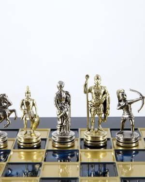 Шахматный набор лучники, синяя шахматная доска,... - заказ и доставка цветов Киев