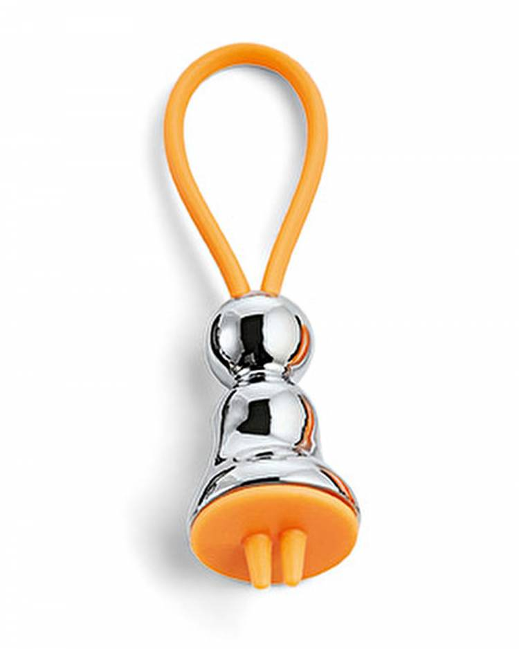 Брелок для ключей Мисс серебристый