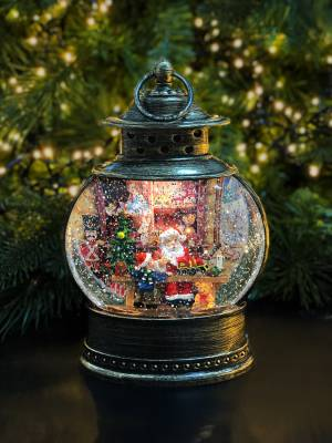 Снежный шар Лампа бронзовая LED-17x8,5x28 - заказ и доставка цветов Киев