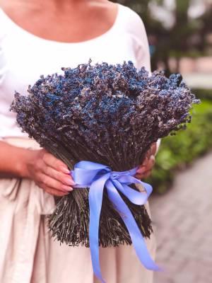 Букет лавандовый - заказ и доставка цветов Киев