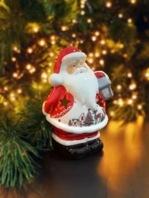 Статуэтка Санта , 2 вида 10X8X15CM - заказ и доставка цветов Киев