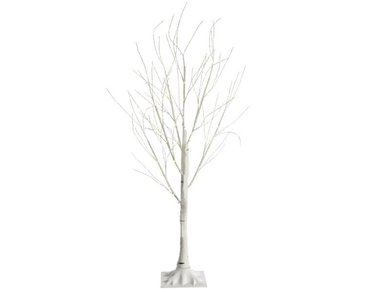 Дерево белое с LED огнями, 150 см