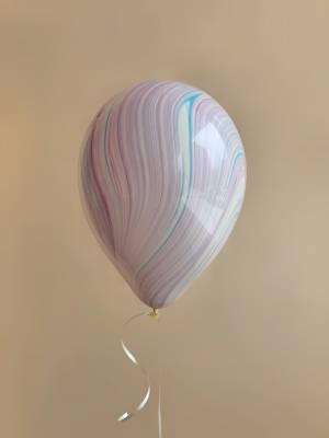 Шар воздушный Агат розово-фиолетовый - заказ и доставка цветов Киев