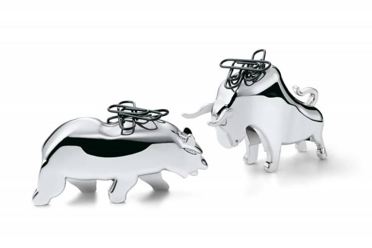 Магнитный держатель для скрепок Bull & Bear