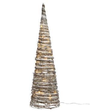 Светодиодная снежная пирамида 17x17x60cm-32L - заказ и доставка цветов Киев