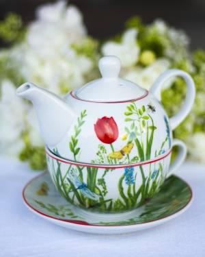 Чайник цветы Набор - заказ и доставка цветов Киев