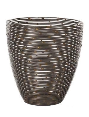 Горшок наборной спиральный, 13 см - заказ и доставка цветов Киев