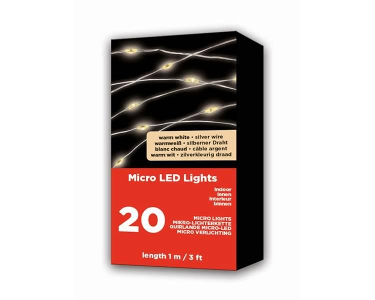 Новогодняя LED мини-гирлянда 95 см
