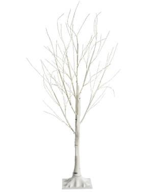 Дерево белое с LED огнями, 150 см - заказ и доставка цветов Киев