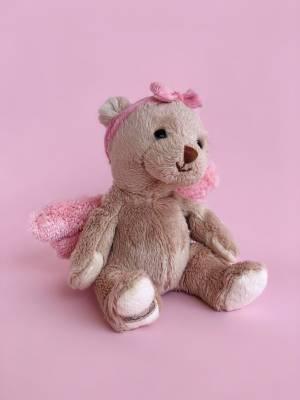 Игрушка Ангел-хранитель Малыш розовый, 15 см - заказ и доставка цветов Киев