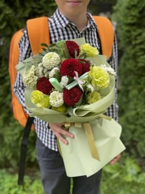 Букет Краски Осени - заказ и доставка цветов Киев