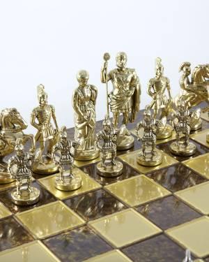 Шахматный набор греко-римского периода, коричне... - заказ и доставка цветов Киев