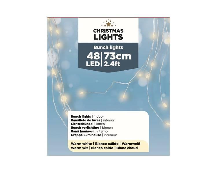Светодиодная лента 6 лент/набор по 8 огоньков