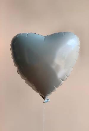 Шар воздушный фольгированый Сердце омбре - заказ и доставка цветов Киев