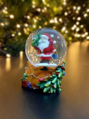 Снежный шар Санта в ассортименте - заказ и доставка цветов Киев