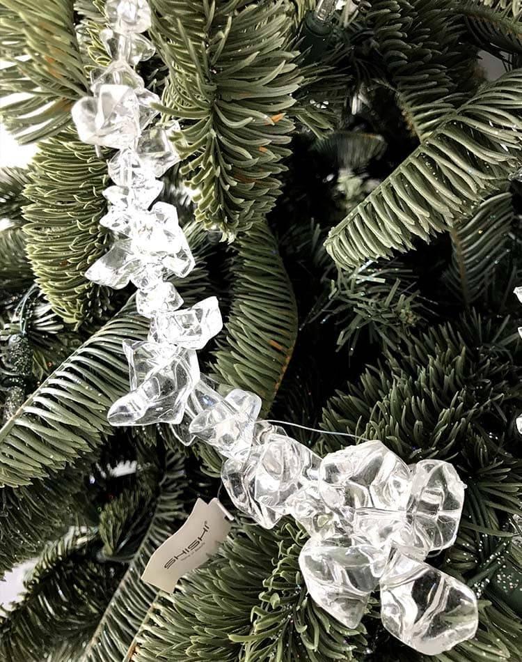 Новогодняя гирлянда Сосулька, 1,2м