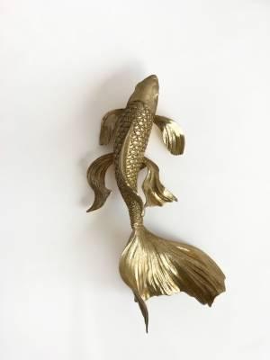 Статуэтка настенная Золотая рыбка, 38 см - заказ и доставка цветов Киев