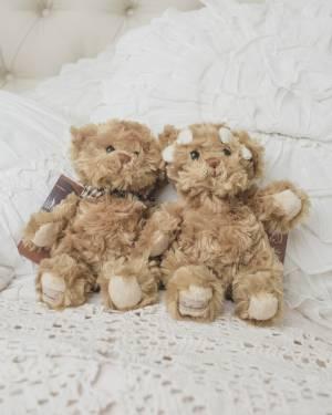 Игрушки Мишки-малыши Людвиг/Мия 15 см, 1 шт - заказ и доставка цветов Киев
