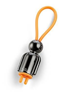 Брелок для ключей Мистер черный - заказ и доставка цветов Киев