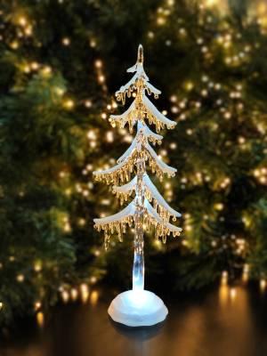 Ель снежная с подсветкой и таймером, 35.5 см - заказ и доставка цветов Киев