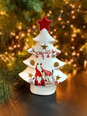 Статуэтка Рождественское дерево с декором Гнома... - заказ и доставка цветов Киев