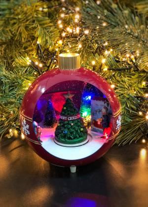 Новогодний декор Ёлочный шар анимированый в асс... - заказ и доставка цветов Киев