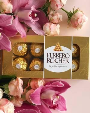 Конфеты Ferrero Rocher 100 г - заказ и доставка цветов Киев