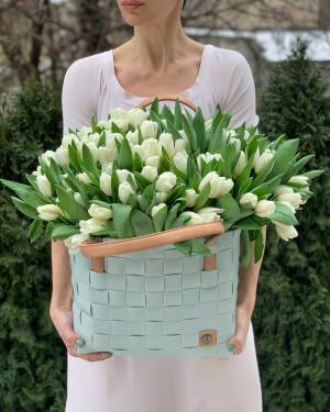 Тюльпаны в сумке