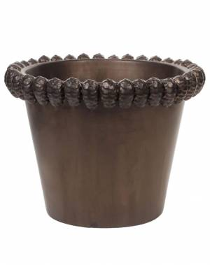 Горшок конус с ободком, 6,5 см - заказ и доставка цветов Киев