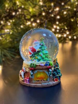 Снежный шар Николас в ассортименте 6*9*6 см - заказ и доставка цветов Киев