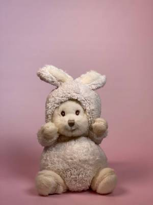 Игрушка Зигги в костюме зайца белый - заказ и доставка цветов Киев