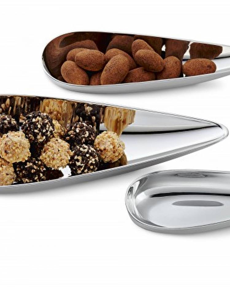 Тарелки с каплями набор 3 шт.