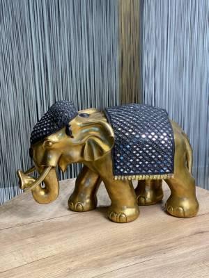Декор Слон золотой/черный - заказ и доставка цветов Киев