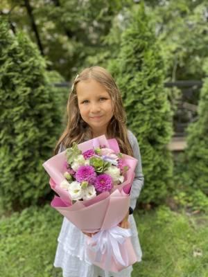 Букет Дорогому Учителю - заказ и доставка цветов Киев