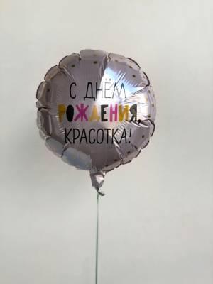 Шар воздушный фольгированный С днем рождения, к... - заказ и доставка цветов Киев