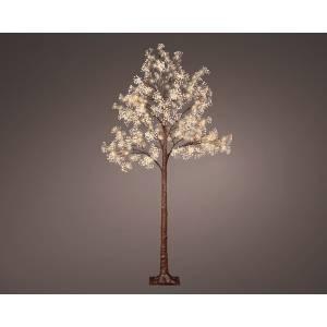 Дерево с бежевыми цветами с LED огнями, 180 см - заказ и доставка цветов Киев